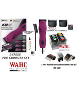 Wahl KM10 ULTIMATE CLIPPER&10,30 Blade&Stainless Steel Guide Attachment ... - $418.93