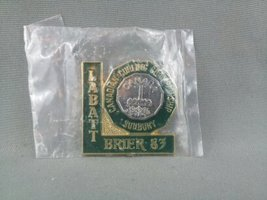 1983 Labatt Brier Pin - Subdury Ontario Canada - New in Bag  - $35.00