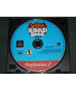 Playstation 2 - The SIMPSONS - ROAD RAGE (Game Only) - $8.00