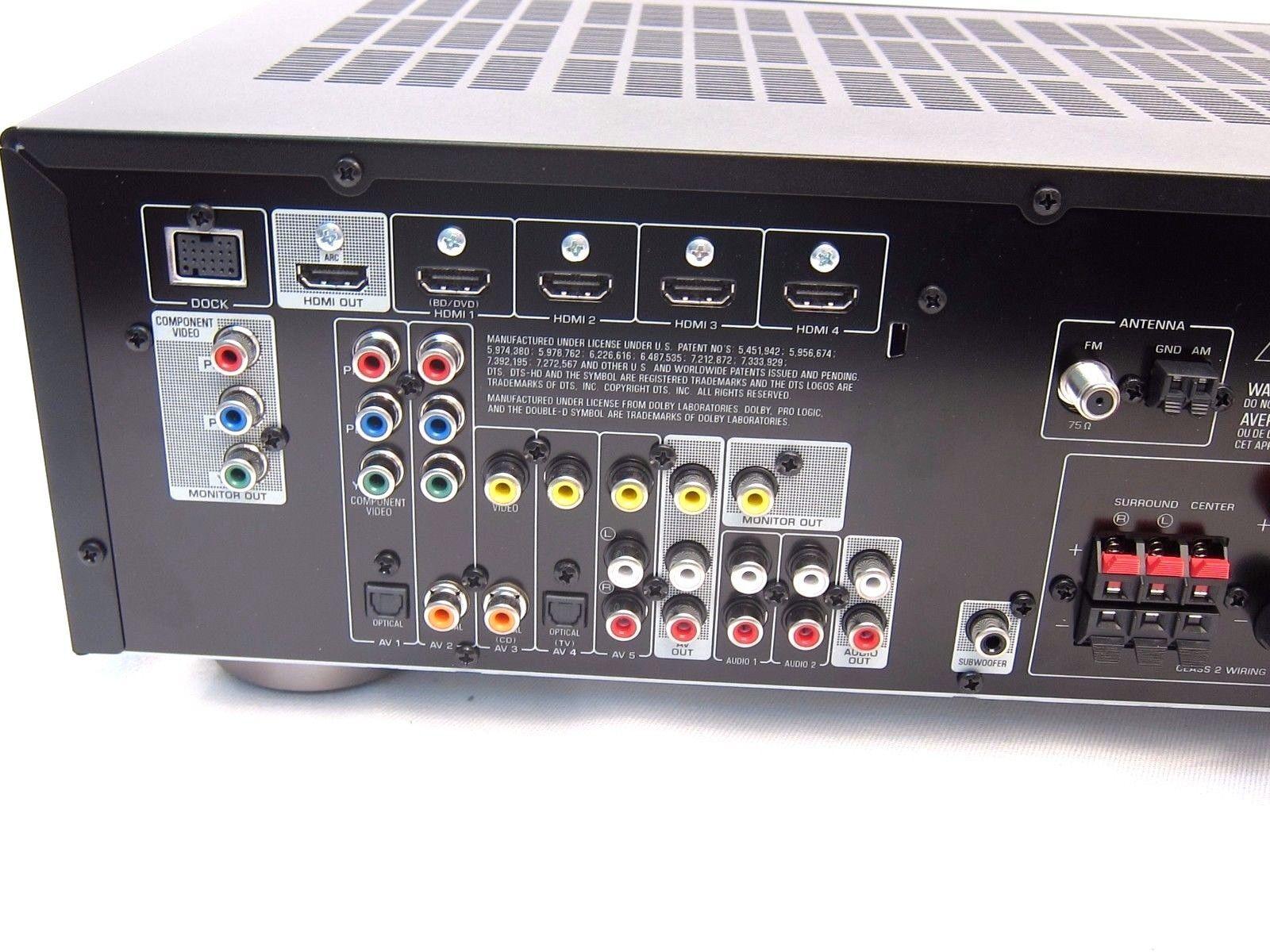 yamaha htr 3064 htr3064 hdmi home theater av receiver