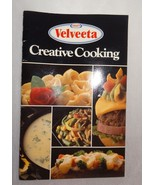 Kraft Velveeta Creative Cooking Cookbook Booklet 1989 Easy Recipes - $10.51