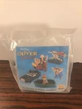 Vintage 1996 Disney Oliver & Company DODGER - Burger King Kids Meal Toy ... - $3.95