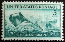 1945 3c U.S. Coast Guard in World War II Scott 936 Mint F/VF NH - $0.99