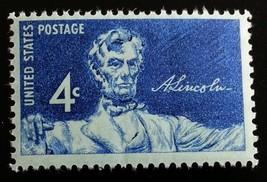 1959 4c Statue of Lincoln Scott 1116 Mint F/VF NH - $0.99