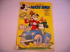 Disney Mickey Mouse Comic Book in German 1978