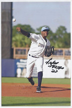 Victor Mateo Signed autographed 4x6 glossy photo rays Minor League - $9.50