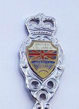 Collector Souvenir Spoon Canada BC Squamish Coat of Arms Flag Emblem - $6.99