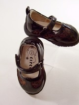 Circo Girls 2 Toddler Shoes Mary Janes Black Patent Leather Animal Print... - $4.99