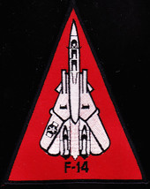 US Navy F-14 Tomcat Fighter Naval Aircraft Military Patch - $9.99
