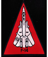 Navy f 14 tomcat fighter naval aircraft military patch thumbtall