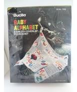 Vintage Bucilla Baby Alphabet Child's Coverlet To Crochet Kit 7939 Sealed - $41.58