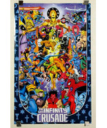 1993 Marvel poster:Avengers/Spider-man/Thor/X-Men/Hulk/Wolverine/Iron Ma... - $59.39