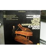 VINYL ALBUM - BACH ON THE PEDAL HARPSICHORD - E Power Biggs - $5.00