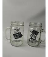 Gosling's Dark 'N Stormy Black Seal Bermuda Black Rum Pint Jar Mugs Set ... - $24.95