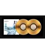 "Radiohead ""OK Computer"" 17 x 34 Framed 24kt Gold Double Album with Album... - $309.95"