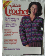 McCall's Crochet Patterns, October 1994, Volume... - $5.00