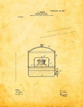 Cooking Appliance Patent Print - Golden Look - $7.95+