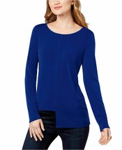 INC International Concepts Women's Asymmetrical Top (Bright Blue, S) - $49.99