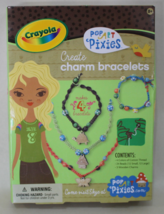 Create Charm Bracelets Kit - Crayola Pop Art Pixies - $12.95