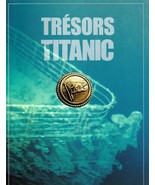 Tresors du Titanic (Titanic Artefacts) Promo Exhibition Catalog + Boardi... - $12.95