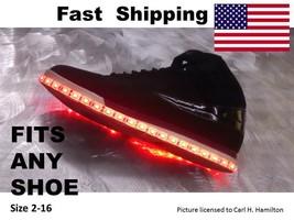 LED Shoe KIT - kit fits ECCO size  5 6 7 8 9 10 11 12 13 14 15 men woman... - $38.61