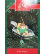 Hallmark Keepsake GONE WISHING Clip-On Ornament - 1992 - $7.95