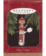 Hallmark Keepsake CLEVER CAMPER Swiss Army Knife Ornament - 1997 - $8.95
