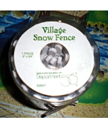 Train Accessories O - Scale  Village Snow Fence  - $4.95