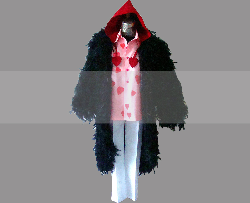 Primary image for Rosinante Corazon One Piece Coat Cosplay Buy, Corazon Costume for Sale