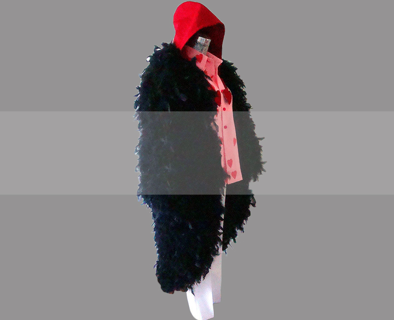 Rosinante Corazon One Piece Coat Cosplay Buy, Corazon Costume for Sale