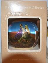Vintage Christmas Memories Collection Unbreakable Satin Ornament Wisemen... - $7.92