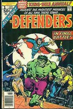 DEFENDERS KING-SIZE ANNUAL #1 (1976) Marvel Comics VG+/FINE- - $9.89