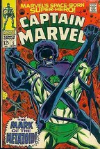 CAPTAIN MARVEL #5 (1968) Marvel Comics FINE- - $9.89