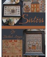 Sisters booklet 5 designs cross stitch booklet Blackbird Designs  - $27.00