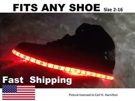 """LIGHT up """"YOUR"""" shoes kit fits Mens - Womens New Balance size 8 9 10 11 ... - $38.61"""