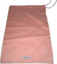 New MiuMiu Sleeper/ Dust Bag / Protective Cover 8 inch width x 13 inch l... - $9.00