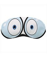 Cartoony Googing Eyes Sleeping Mask - £7.36 GBP