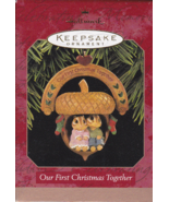 Hallmark Keepsake OUR FIRST CHRISTMAS TOGETHER Ornament - 1997 - $8.95