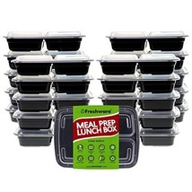 Freshware Meal Prep Containers [21 Pack] 3 Compartment with Lids, Food S... - €51,37 EUR