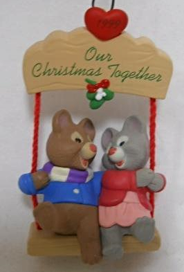 Hallmark Keepsake OUR CHRISTMAS TOGETHER Ornament - 1999