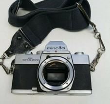 Minolta SRT 200 Chrome 35mm Camera Body Only  - $19.79