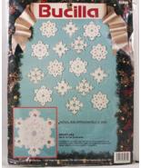 Bucilla Jeweled Snowflake Felt Embroidery Ornament Kit  - $24.99