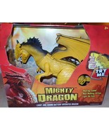 Mighty Dragon Light and Sound Dragon Real Walking Action Roars Light Up ... - $30.00