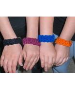Crochet Bangle Bracelets Party Favors 50 Lot - $24.99