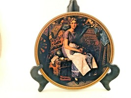 Norman Rockwell Dreaming In The Attic Collectible Plate Knowles Number 1... - $9.49