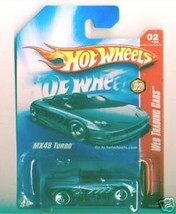 Hot Wheels 2008 078 Web Trading Cars MX48 Turbo 3sp BPB - $2.51