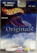 Hot Wheels Originals Exclusive Evil Twin Real Riders 2001 56028 - $7.56