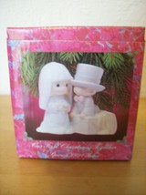 1991 Precious Moments Our First Year Together Wedding Christmas Ornament  - $25.00