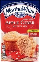 Martha White Apple Cider Muffin Mix 7 oz Bag - $6.23