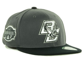 """Boston College Eagles NCAA TOW """"Slam"""" Flat Bill Stretch Fitted Hat New W... - $17.77"""